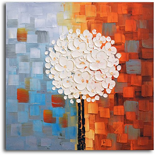 Omax Decor Hand Painted ''Make a Wish'' Oil Painting on Canvas by Omax Decor