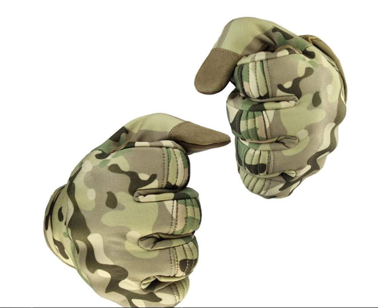 ZRDY Guanti da Uomo con Touchscreen Impermeabili Guanti Tattici Militari Guanti da Bicicletta A Dito Pieno Guanto da Sport Allaperto for La Caccia in Bicicletta