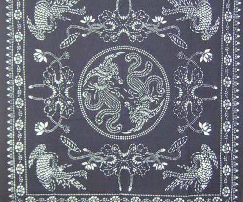 Chinese Batik (Handcraft Tapestry Tablecloth Chinese Batik Art)