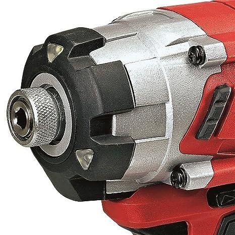 Einhell Expert TE-CI 18 Li Kit - Atornillador de impacto sin cable ...