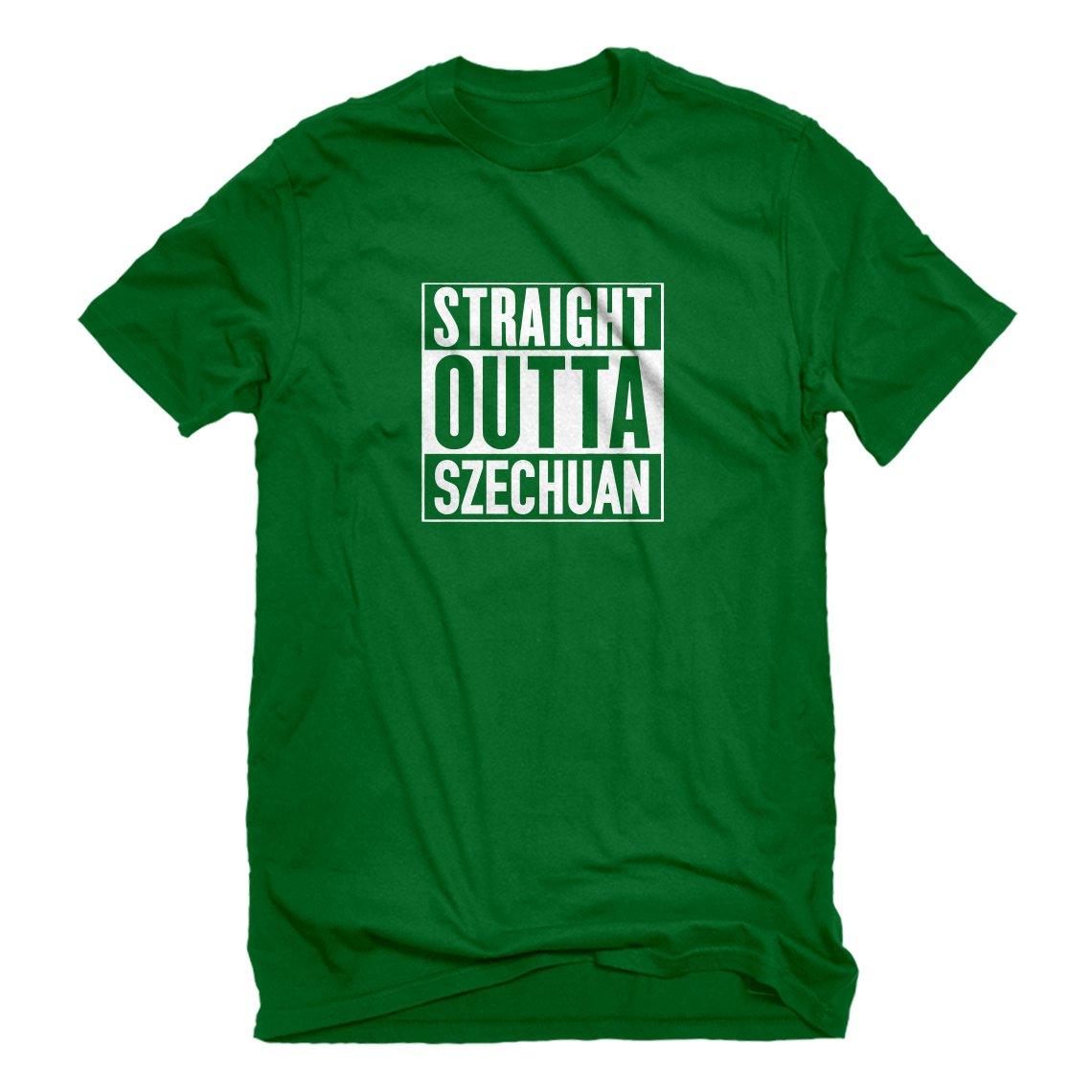 Indica Plateau Straight Outta Szechuan Mens T-Shirt 3289-M