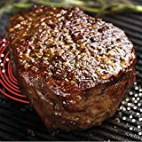 Hamilton Meats USDA Choice Beef Filet Steak, 6 oz (Pack of 4)