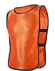 6pcs 12pcs Petos de Entrenamiento Petos de Fútbol para Niños ( Color    Naranja  8637ee20d3fcb