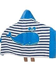 Toalla de Baño con Capucha, Morbuy 100% Algodón Niños Niñas Dibujos Animados Manta de