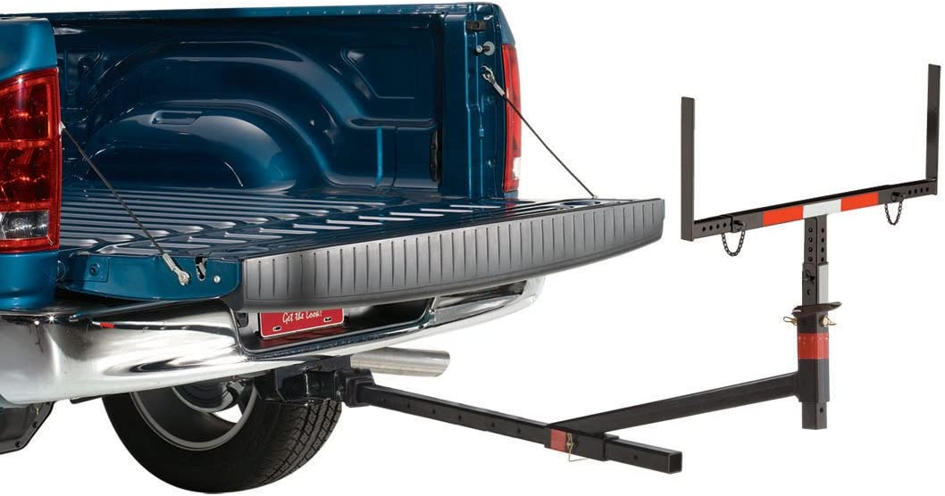 Hitch Mounted Truck Bed Extender