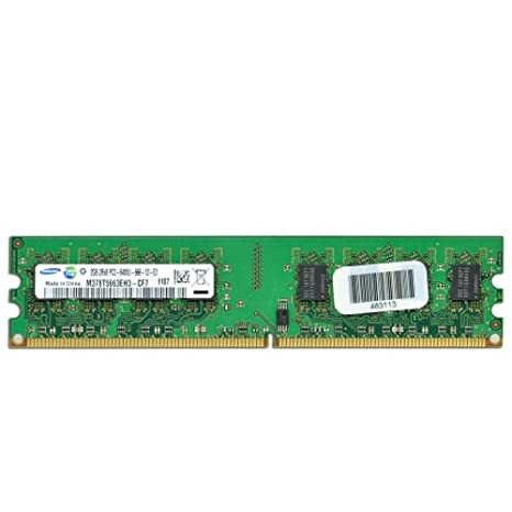 Amazon.com: Samsung 2 GB RAM DDR2 PC2 – 6400 240-Pin DIMM ...