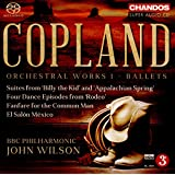 Copland: Orchestral Works, Vol. 1