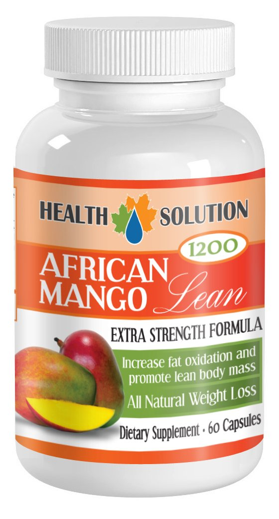 Fat burner for men weight loss - AFRICAN MANGO EXTRACT (1200Mg) - African mango plus diet pills - 1 Bottle 60 Capsules by Health Solution Prime