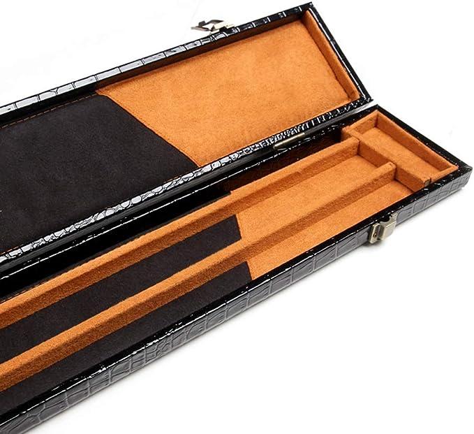 ZXH 3/4 Snooker Funda de Taco de Billar, 120cm Sostiene 2 Piezas ...
