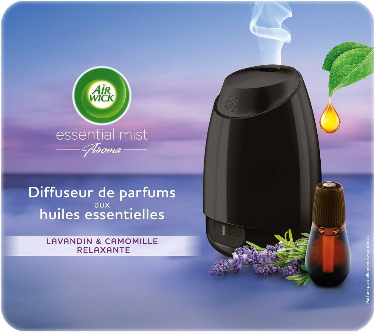 Diffuseur d'huiles essentielles Air Wick + recharge Lavande en promotion