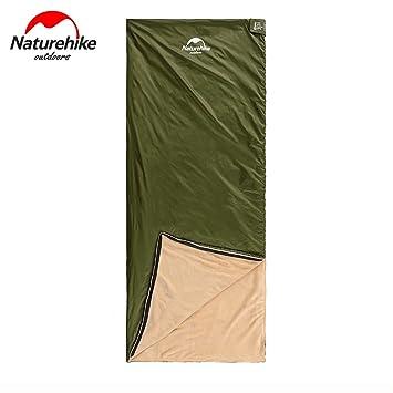 Naturehike Mini ultraligero saco de dormir al aire libre acampar viajes saco de dormir de terciopelo Coral LINNER Envelope, hombre mujer Infantil, ...