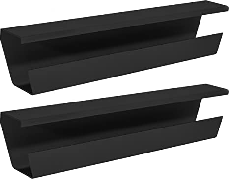 Metal 2 Under Desk Cable Management Tray Cable Organizer for Wire Management