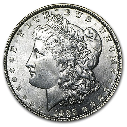 1889 Morgan Dollar BU $1 Brilliant Uncirculated