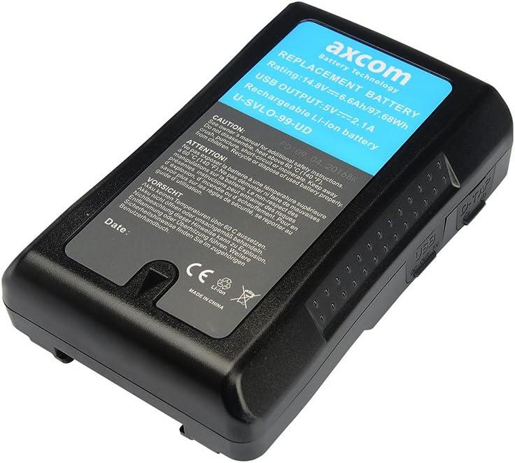Axcom Original V Mount Akku Für Sony V Lock Bp L40 Kamera