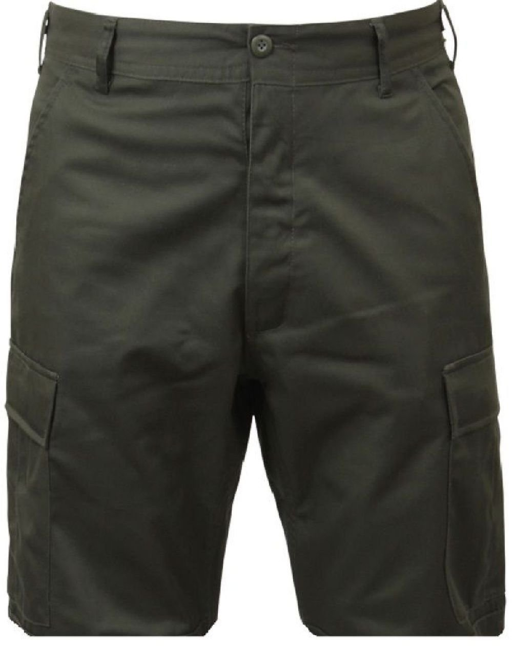 Bellawjace Clothing OD Green Military BDU Combat Cargo Shorts Poly/Cotton