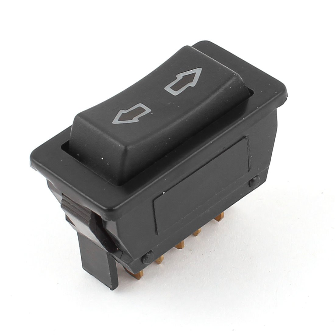 Car Panel Mount 5 Pins Window Open Glass Lift Switch Button DC 12V uxcell a14102400ux0712