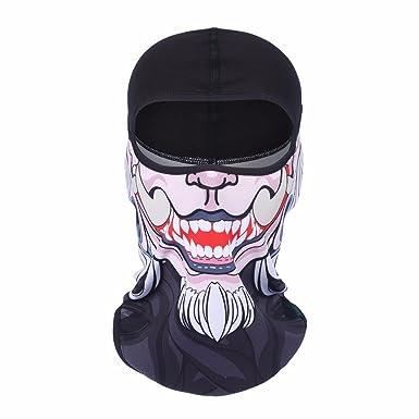 b9a783d9339 SUNMECI Ski Mask Balaclava Fleece Warmer Windproof Face Riding Helmet Hood  Gear SMC-BF-Q-01  Amazon.in  Clothing   Accessories