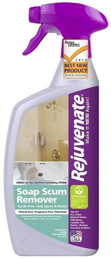 Amazon Com Rejuvenate Scrub Free Soap Scum Remover Non Toxic Non