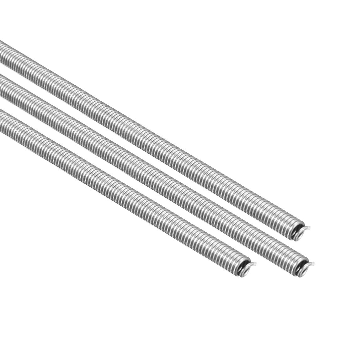 uxcell Heating Element Coil Wire AC220V 2500W / AC110V 625W Kiln Furnace Heater Wire 7mm 750mm 3PCS