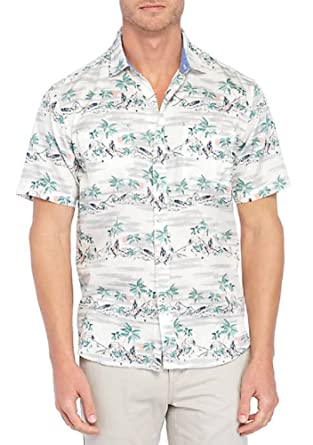 b4544c50 Tommy Bahama What The Hula Camp Shirt (Color: Coconut Cream, Size XL) at  Amazon Men's Clothing store: