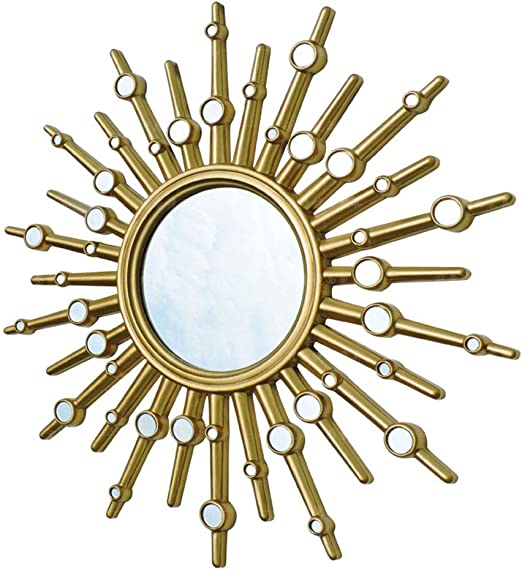 Amazon.com: Round Wall Hanging Mirror Living Room Ornate ...