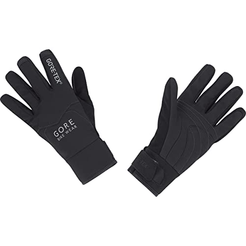 GORE BIKE Wear Guantes Térmicos de Mujer para ciclismo, GORE-TEX, UNIVERSAL LADY Thermo Gloves, Negro