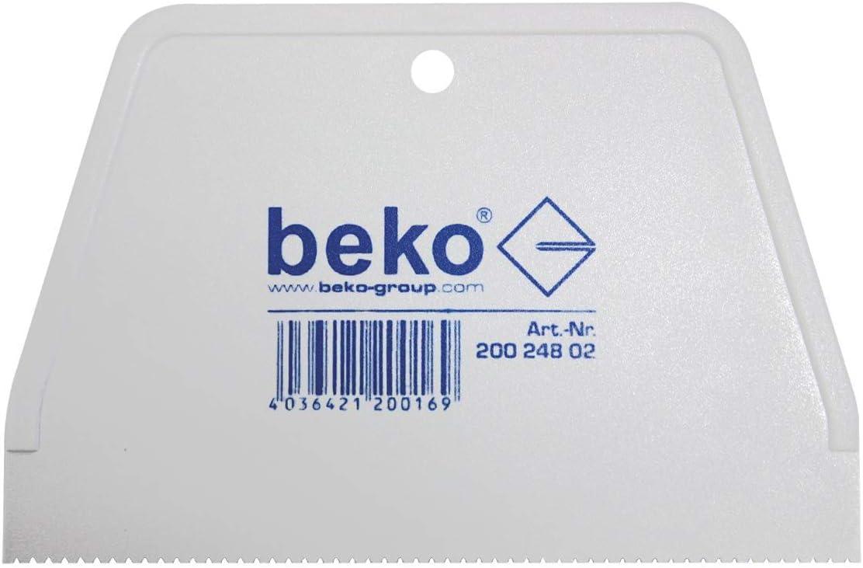 1/pieza 20024802 Beko Esp/átula para encolar dentada