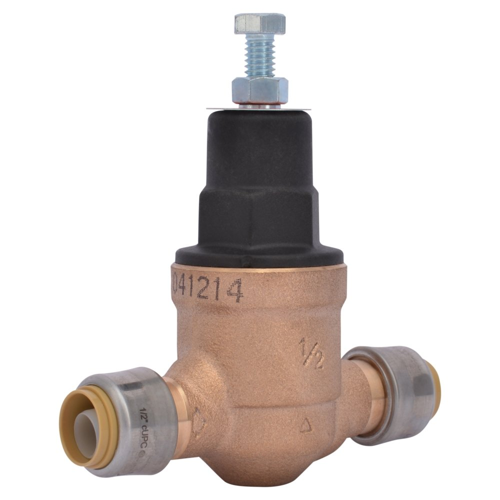 1//2 1//2 EB45-DSB Direct Shark Bite Cash Acme 23807-0045 Pressure Regulator
