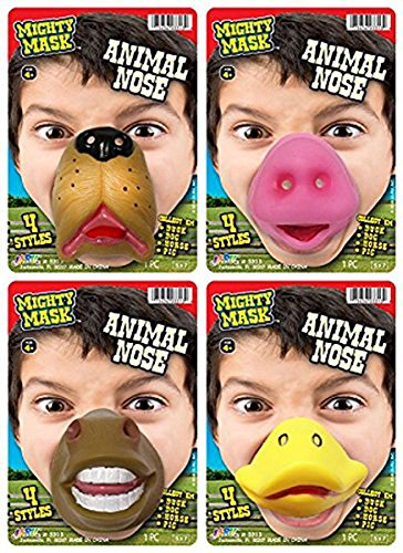 [Ja-Ru Mighty Mask Animal Nose] (Duck Costumes For Dog)