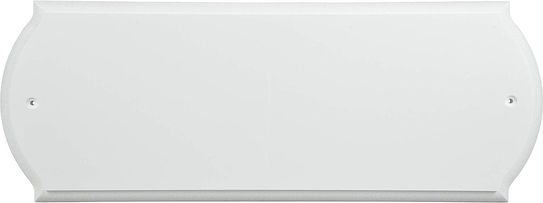 Hillman 848711 Paintable Address Plaque, White