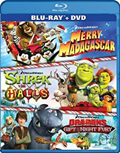 Dreamworks Holiday Classics Two-disc Blu-raydvd Combo by Dreamworks Animated
