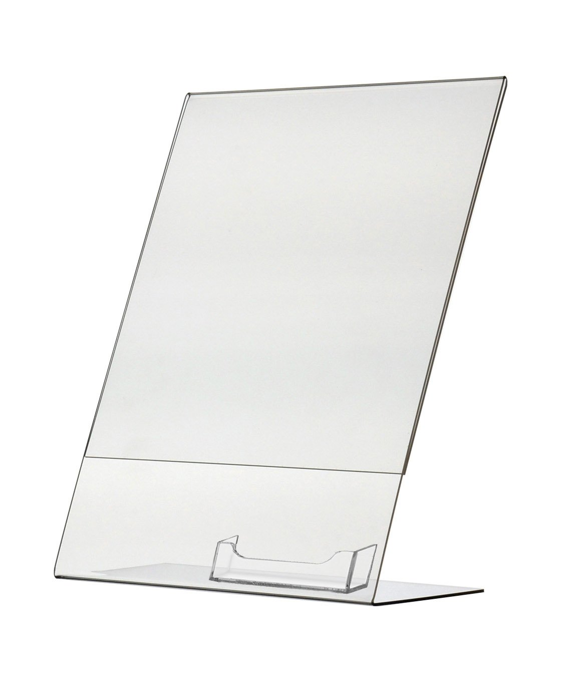 Marketing Holders Frame Ad Sign Brochure Literature Clear Acrylic Expo Shows Table Counter Display Stand Sold in Lots of 10 (4, 8.5''w x 11''h)