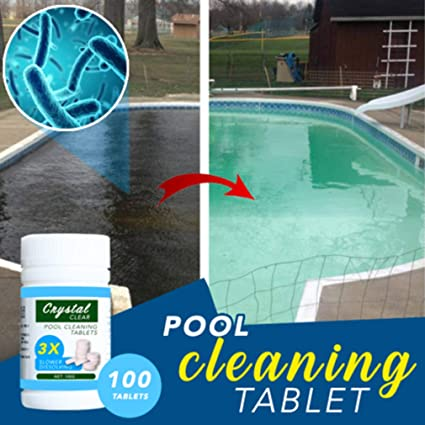 Amazon.com : Magic Pool Cleaning Tablet (100 Tablets 1 ...