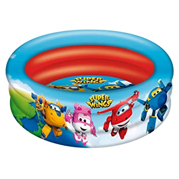 Super Wings - Piscina 3 aros - 86 cm diámetro (ColorBaby 77033)