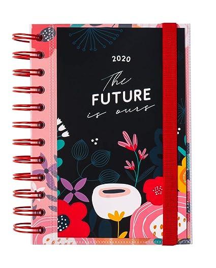 ERIK - Agenda anual 2020 Blummen, día página (11,4x16 cm ...