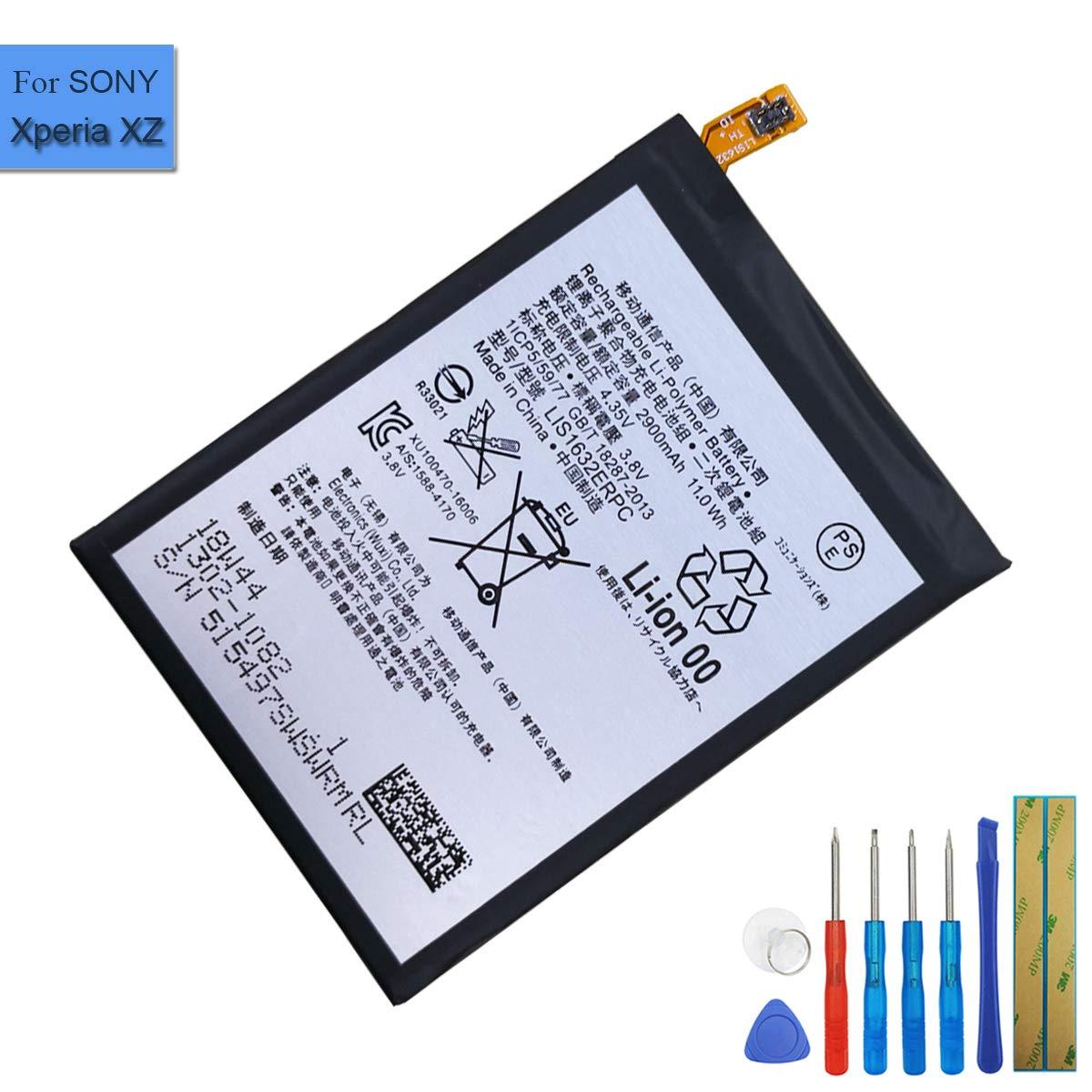 Ion de polímero de Litio batería de Repuesto lis1632erpc ...