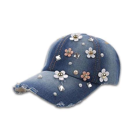 FDBQC Diamantes De Imitación para Mujer Gorras De Béisbol Sombrero ...
