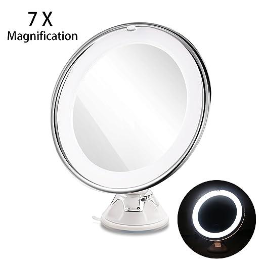 Ruimio Lighted Makeup Mirror