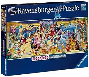 Ravensburger 15109 - Disney Gruppenfoto - 1000 Teile Panorama Puzzle