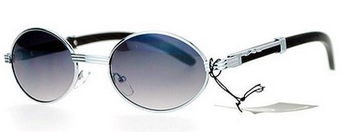 Amazon.com: Oval Madera Buffs Unisex anteojos de sol ovalado ...