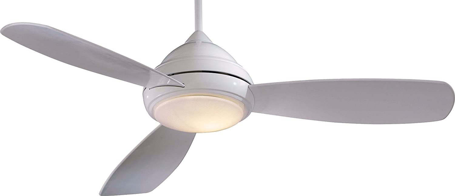 MinkaAire F516LWH Concept I LED White 44 Ceiling Fan with
