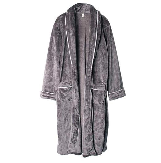 PFSYR Falda cálida de otoño e Invierno, túnicas para Hombres, Ropa ...