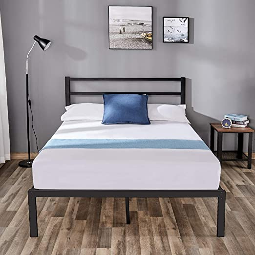 Amazon Com Full Size Bed Frame Metal Bed Full Size Frames With
