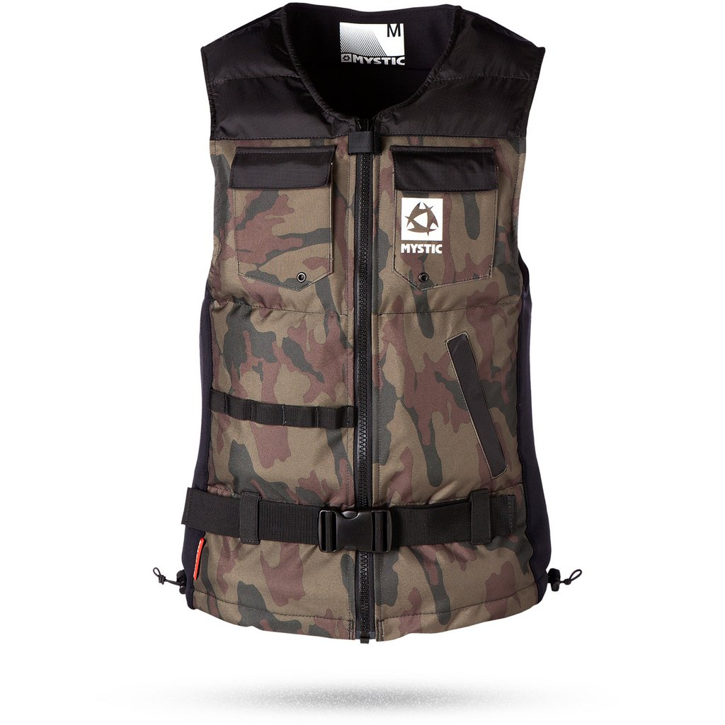 MYSTIC(ミスティック) Voltage Wakeboard vest フロントジップインパクトベスト [35005.140330] メンズ マリンスポーツウェア インパクトベスト浮力体 M  B01BM7001I