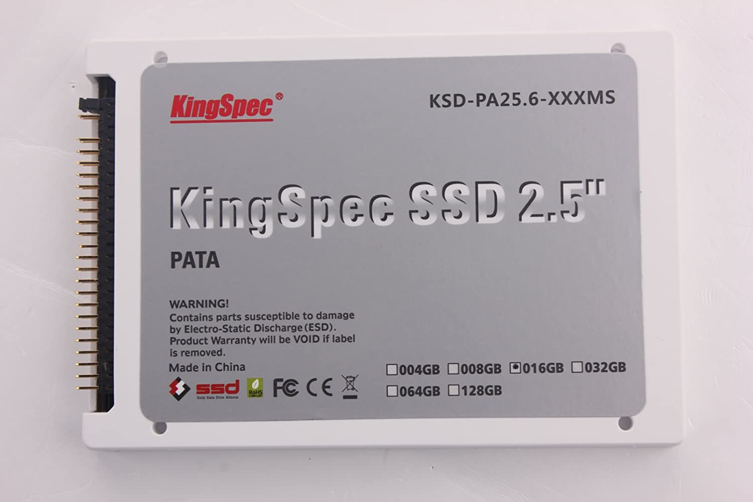 KingSpec - Disco duro SSD (2,5