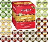 Cha4TEA K-Cup Tea Variety Sampler Pack, 36-Count Keurig K Cups, 6 Flavors