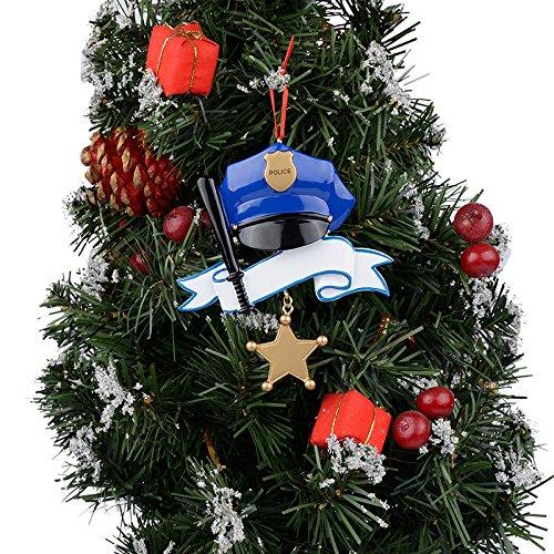 WorldWide Personalized Police Ornament PR818