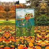 Evergreen Enterprises, Inc Hillary Hummingbird Welcome Garden Flagpole