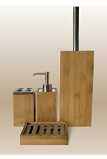 Attractive Best Bamboo Bathroom Accessories Set Gallery Home Decorating