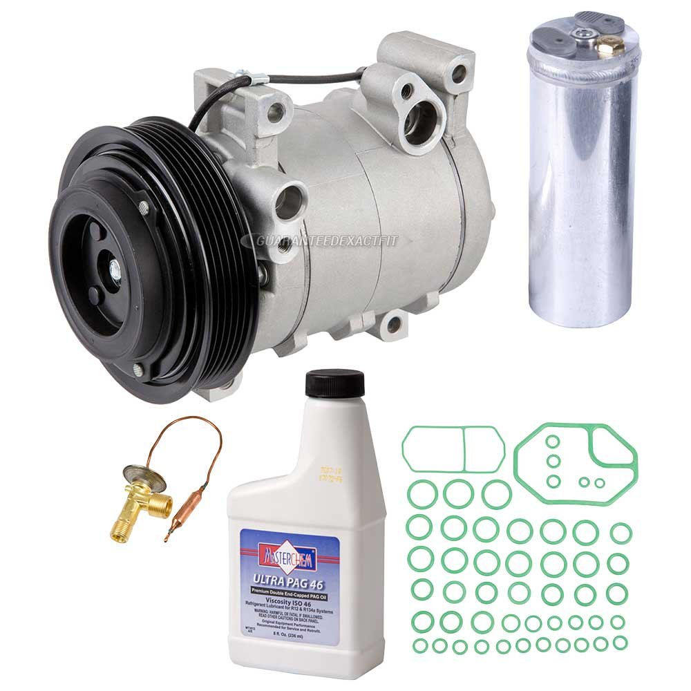 New Ac Compressor Clutch With Complete A C Repair Kit 1996 Isuzu Rodeo Starter Location For Honda Buyautoparts 60 80173rk Automotive